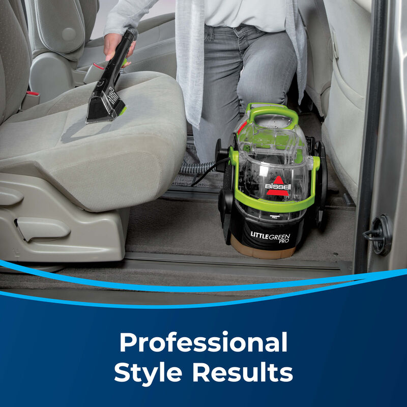 BISSELL Little Green Pro Portable Carpet Cleaner 2505 Professional Results
