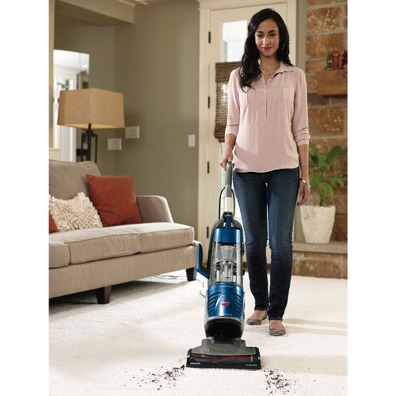 Powerglide LiftOff Upright Vacuum 91825 cleaning path