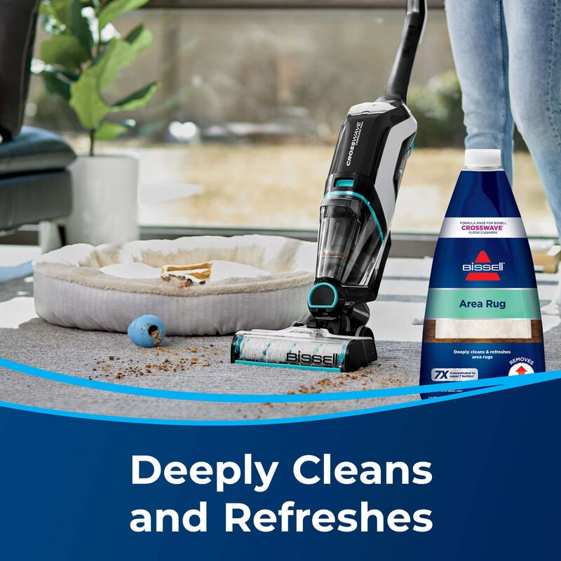 BISSELL Area Rug Formula CrossWave Multi-Surface Wet Dry Vac 1930 Refreshes