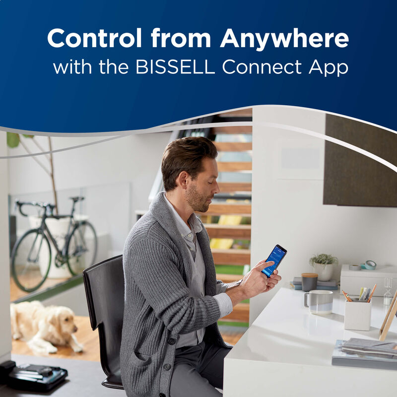 BISSELL ICONpet Robotic Vacuum 2291A Control
