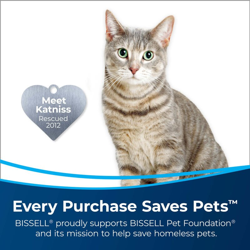 BISSELL PET Multi-Surface Formula with Febreze 22959 CrossWave SpinWave JetScrub Save Pets