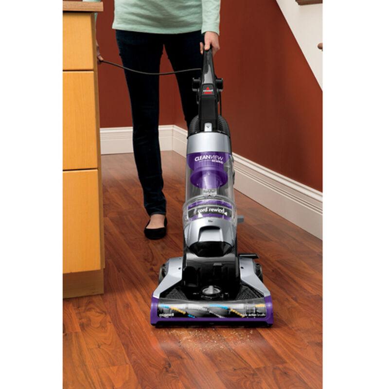 CleanView Deluxe Rewind Upright Vacuum 1322 Bare Floor Cleanin