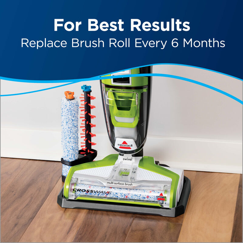 CrossWave Multi Surface Wet Dry Vac Wood Floor Brush Roll 1608022 Results