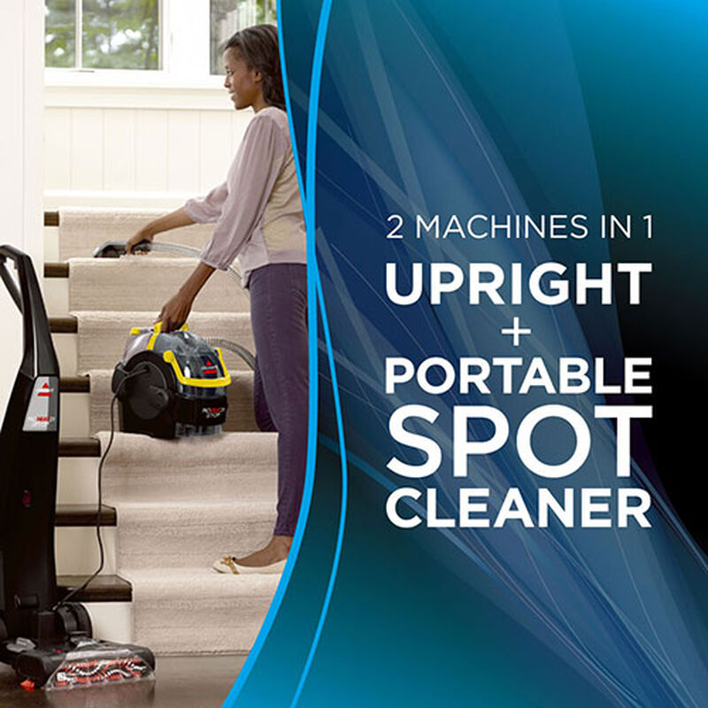 Proheat 2X LiftOff Upright Carpet Cleaner 1560 spot cleaning