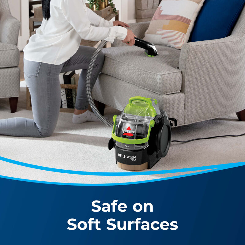 BISSELL Little Green Pro Portable Carpet Cleaner 2505 Soft Surfaces
