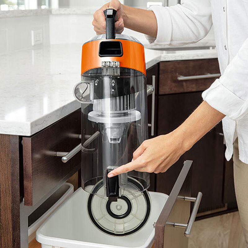 CleanView Bagless Vacuum Cleaner Empty Dirt Bin