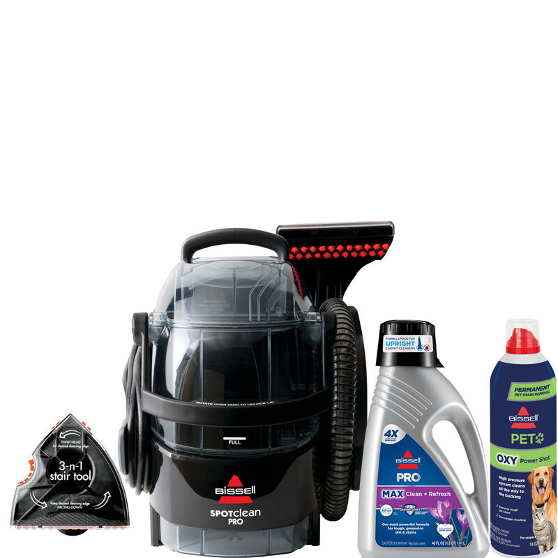 BISSELL SpotClean Pro Stain Removal Bundle B0168