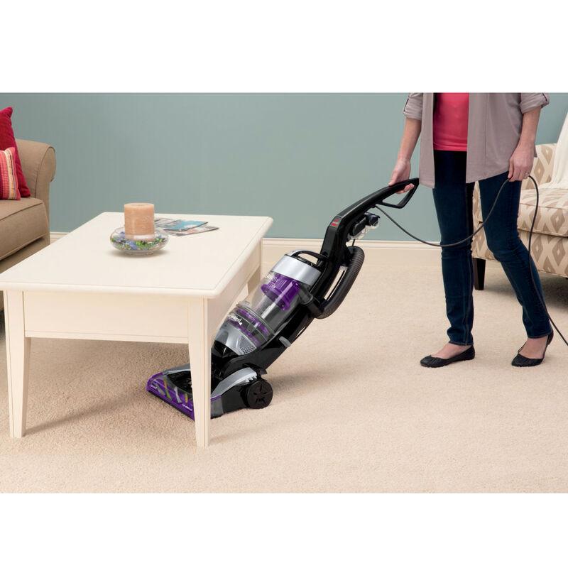 CleanView Pet Rewind Vacuum 1328 Under Furniture Cleaning