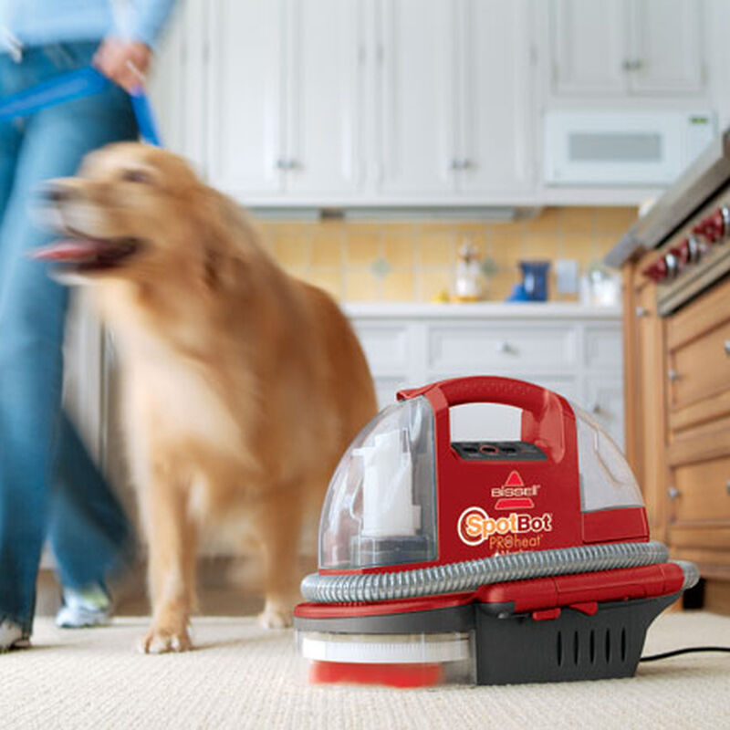 Spotbot Proheat Portable Carpet Cleaner 12U9 Automatic Pet Mess Cleaning