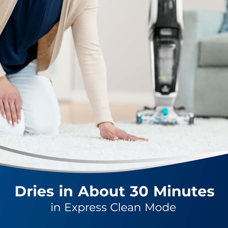 JetScrub™ Pet Carpet Cleaner 25299 Dries in about 30 minutes