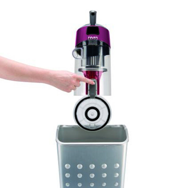 CleanView Plus Upright Vacuum 3583 Dirt Container Emptying