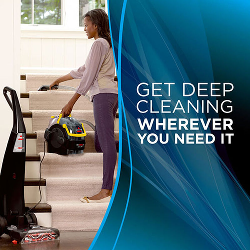 Proheat 2X LiftOff Upright Carpet Cleaner 1560 stair cleaning