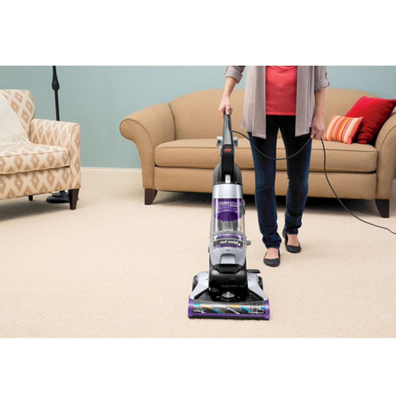CleanView Deluxe Rewind Upright Vacuum 1322 Upright Carpet Cleaning