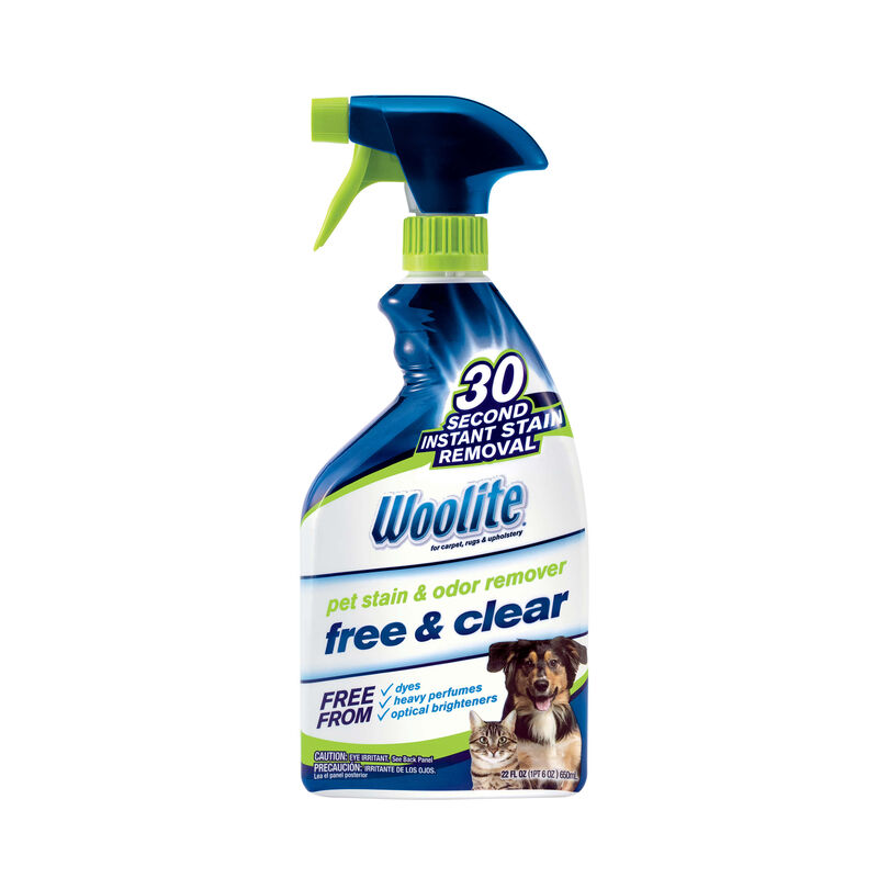 Woolite® Free & Clear Pet Stain & Odor Remover Pretreat Hero