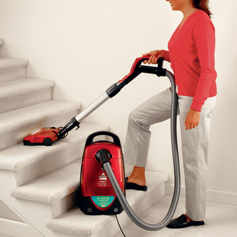 DigiPro Bagged Canister Vacuum 6900 stairs