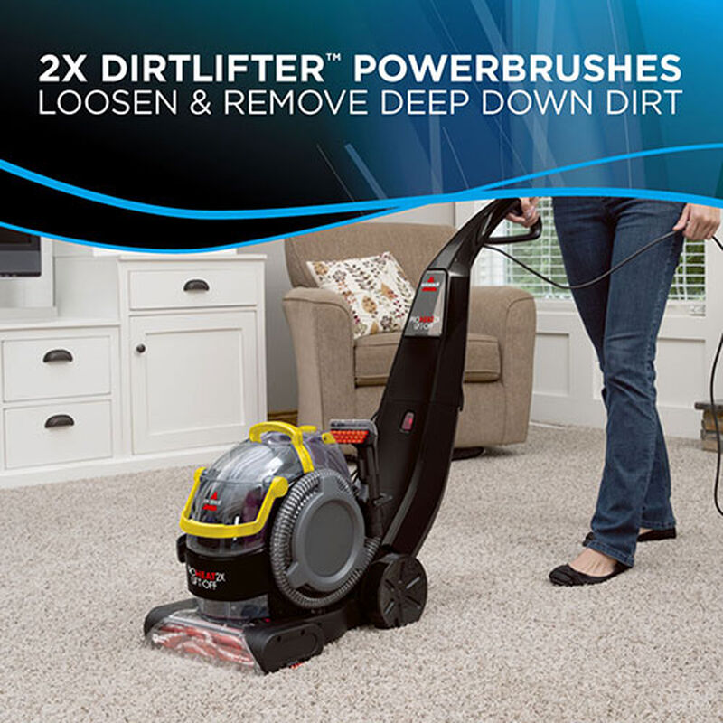 Proheat 2X LiftOff Upright Carpet Cleaner 1560 dirtlifter powerbrushes