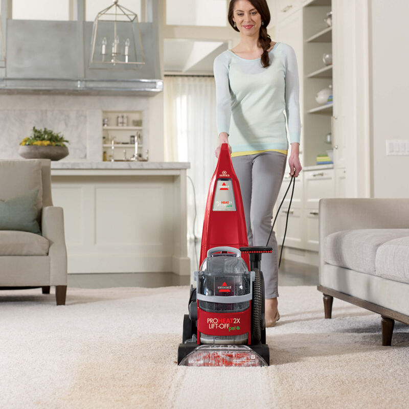 BISSELL ProHeat 2X® Lift-Off® Pet Upright Carpet Cleaner 1565T Carpet