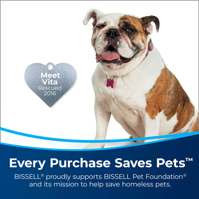 BISSELL SpotClean Pet Pro™ Portable Carpet Cleaner 2458 Save Pets