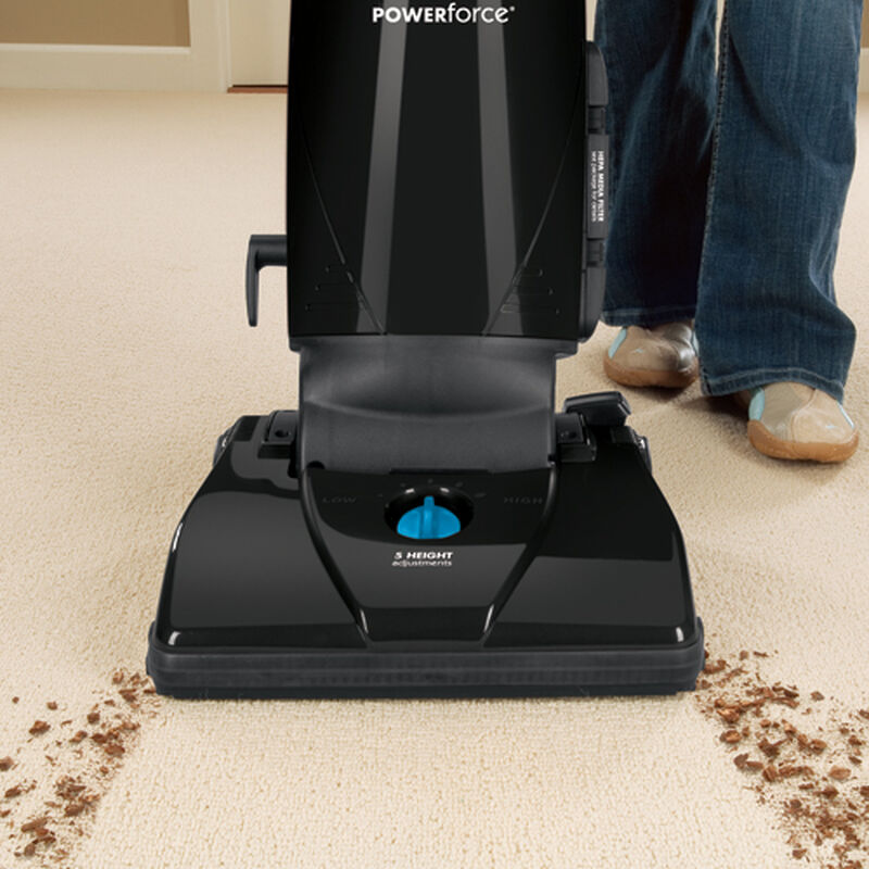 Powerforce Bagged Vacuum 1398 Cleaning Path