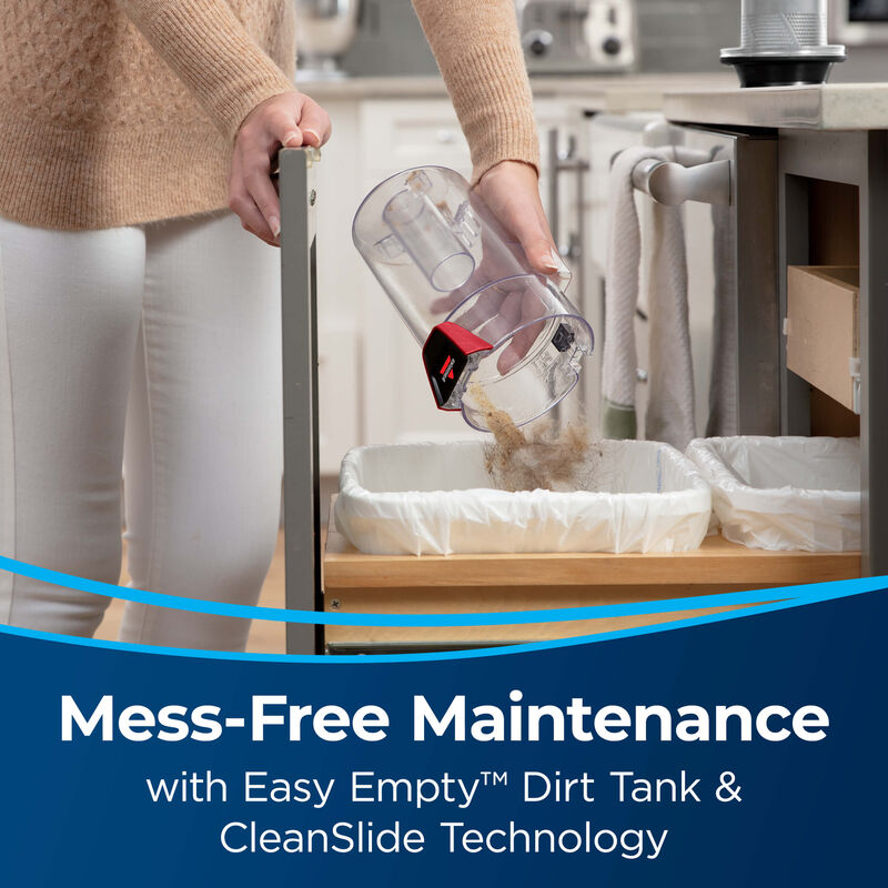 BISSELL CleanView® Pet Slim Corded Vacuum 28311 Mess Free Maintenance