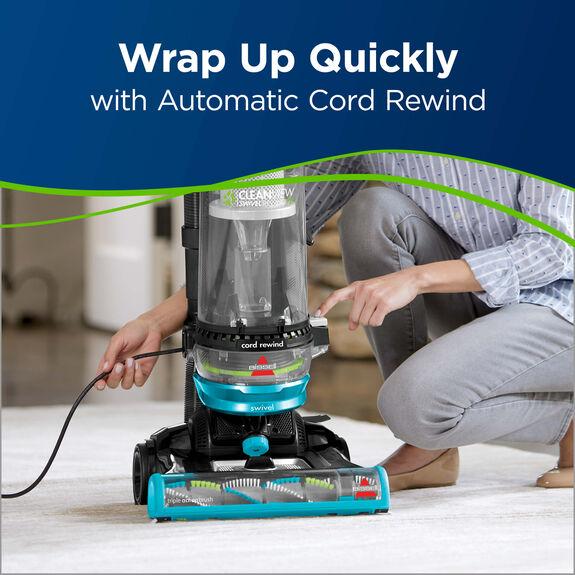 Cleanview Swivel Rewind Hand Vacuum
