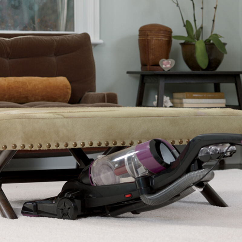 Cleanview OnePass Upright Vacuum 9595 Under Furniture