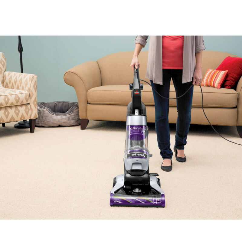 CleanView Pet Rewind Vacuum 1328 Upright Vacuum Cleaning