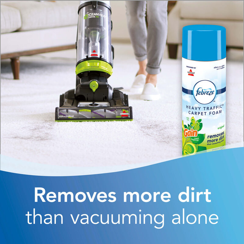 Febreze® Gain™ Original Heavy Traffic® Carpet Foam Vacuum More