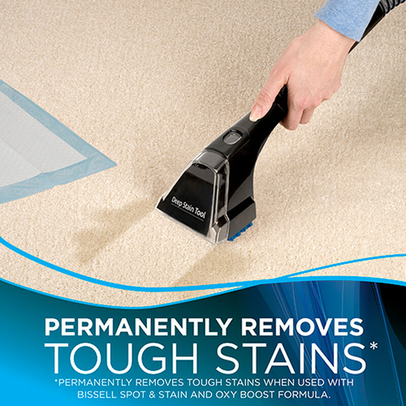 Spotclean Proheat Portable Carpet Cleaner Removes Stains