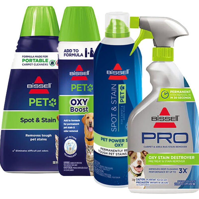 Pet Stain Removal Formula Pack for Carpet Cleaning