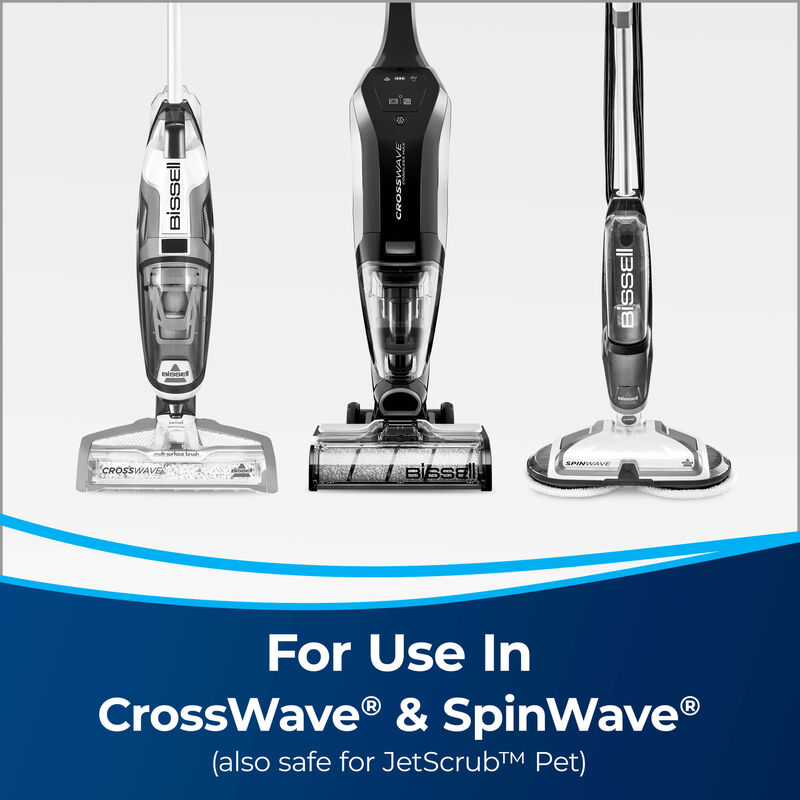 BISSELL Multi-Surface Formula 17891 CrossWave MultiSurface Wet Dry Vac SpinWave Spin Mop Machines