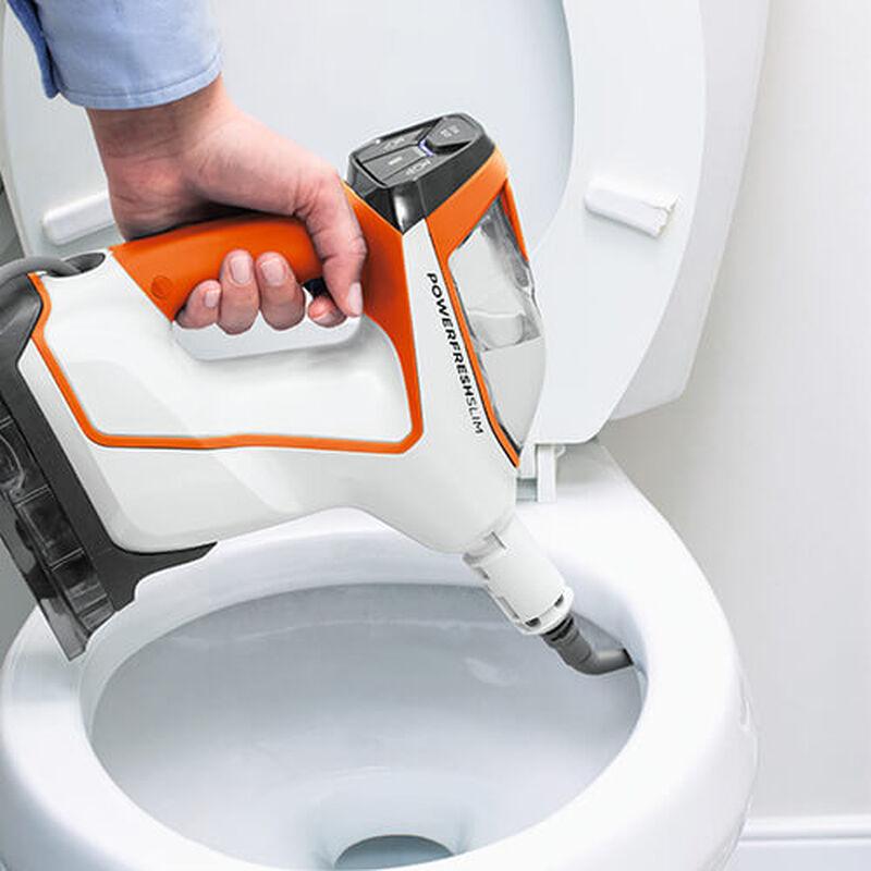 PowerFresh Slim Steam 2181 BISSELL Steam Cleaner Steam Mop Toilet