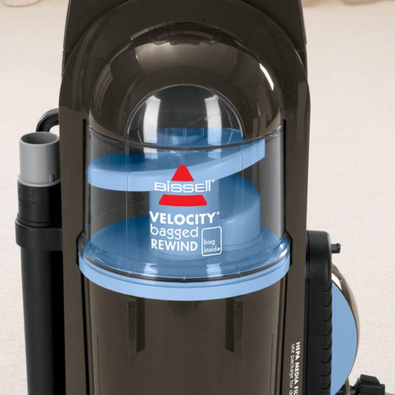 Velocity Rewind Bagged Vacuum 38632 air flow
