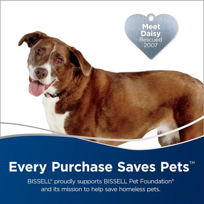 BISSELL ICONpet Cordless Vacuum Save Pets