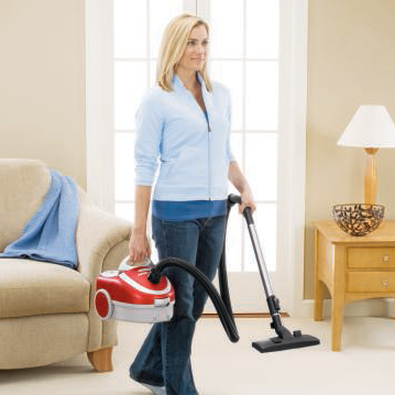 Zing Bagged Canister Vacuum 7100 lightweight