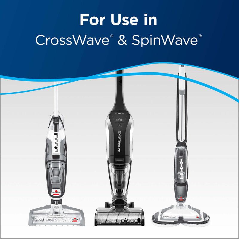 Hard Floor Sanitize Formula 2504L BISSELL CrossWave SpinWave Formula Machines