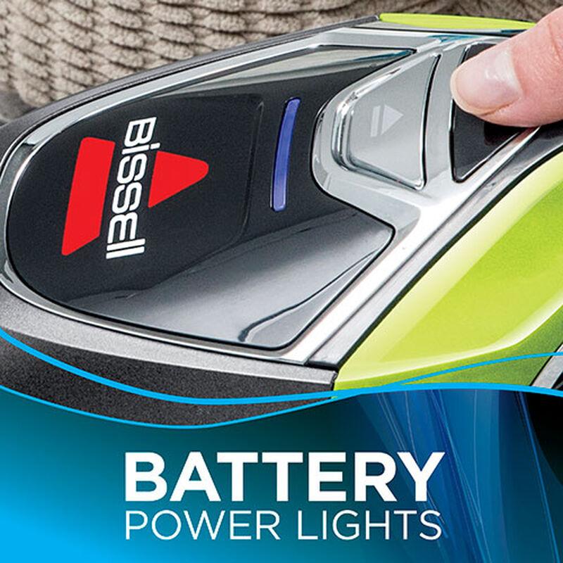 BOLT Cordless Hand Held Vacuum Battery Lights