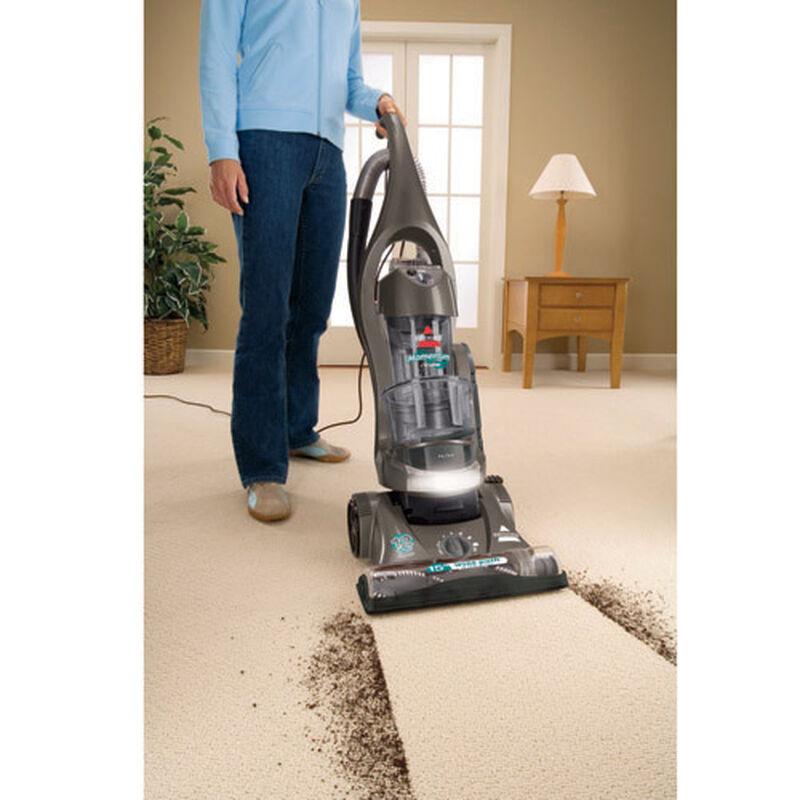 Momentum Cyclonic Vacuum 3910T Cleaning Path