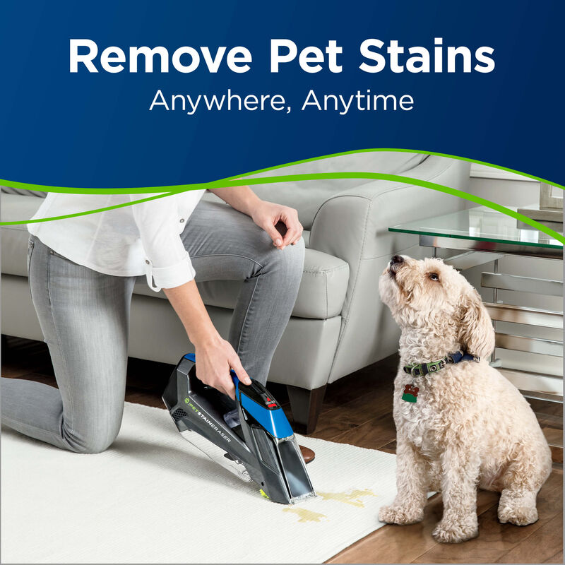 BISSELL Pet Stain Eraser™ Cordless Portable Carpet Cleaner 20037 Remove Pet Stains