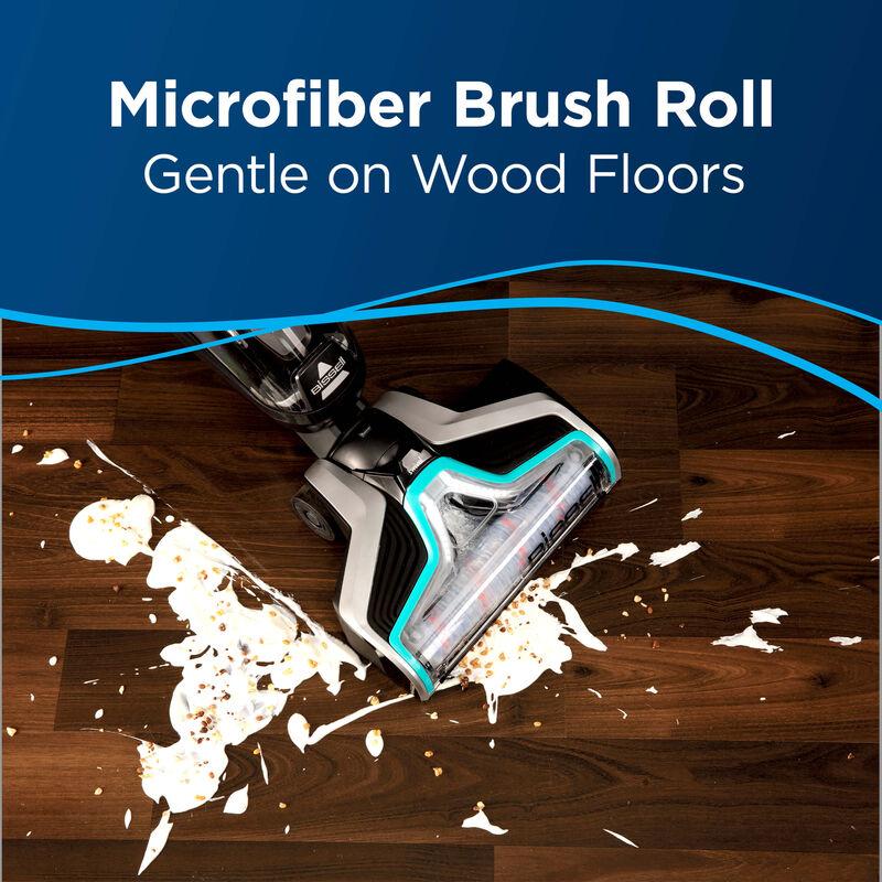 CrossWave Multi Surface Wet Dry Vac Wood Floor Brush Roll 1608022 Microfiber