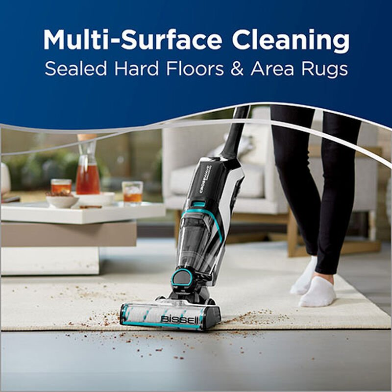 CrossWave Cordless Max Wet Dry Vac 2596 BISSELL Multi Surface