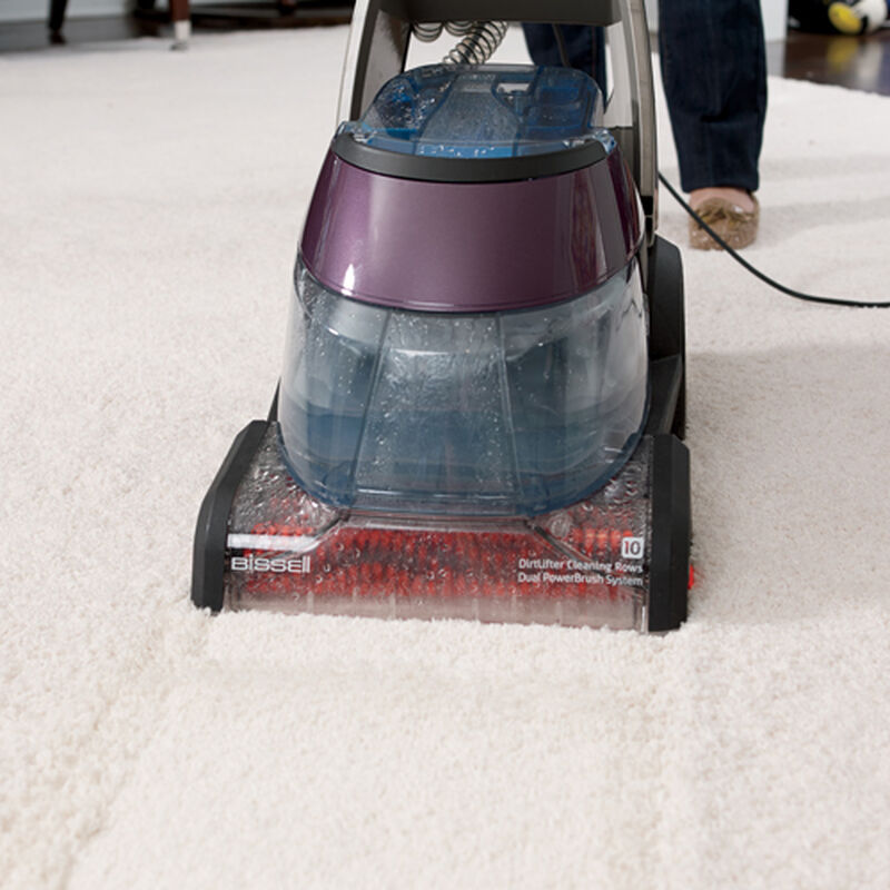 DeepClean Premier Carpet Cleaner 47A2 Cleaning Path