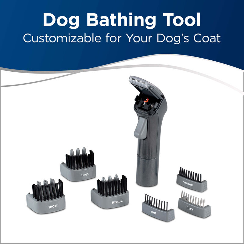 BISSELL BARKBATH Dual Use 2592 Dog Grooming System Tools