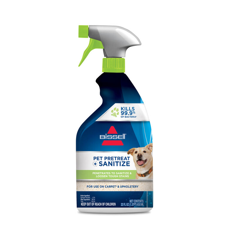 BISSELL PET Pretreat + Sanitize Formula Spot and Stain Remover 1129 Hero