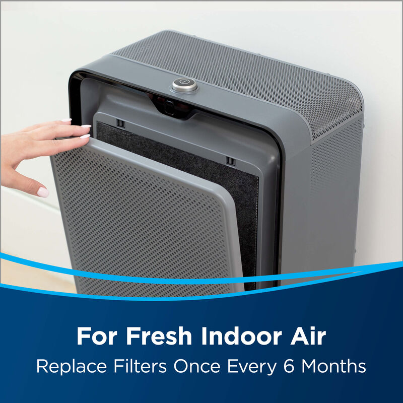 Activated Carbon Filter for Select BISSELL Air Purifiers 2677 Fresh Air