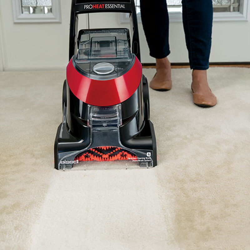 ProHeat Essential 1887 Upright Carpet Cleaner Dirty Carpet