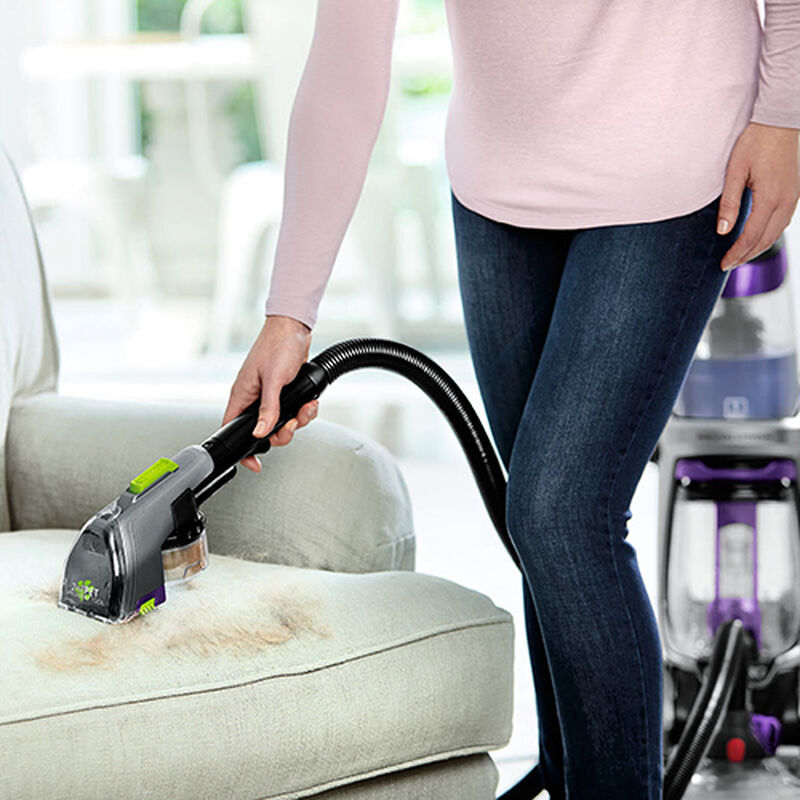 ProHeat 2X Revolution Pet Pro 1986 BISSELL Carpet Cleaner Machine 2 in 1 Upholstery Pet Tool Dry Suction Action