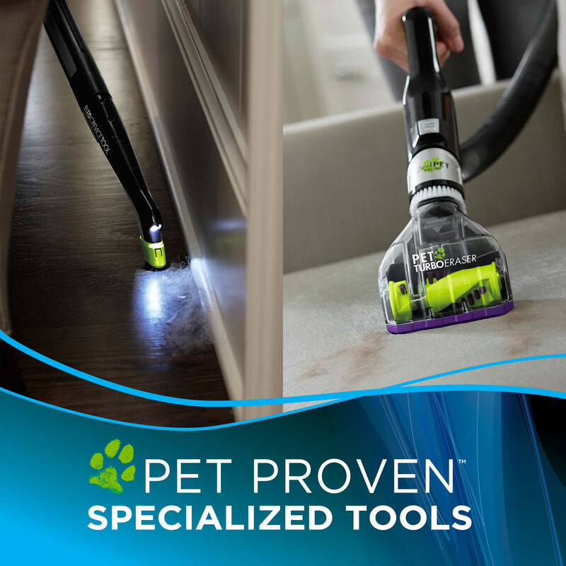 BISSELL® Pet Hair Eraser® 1650A Vacuuming Other Pet Tools