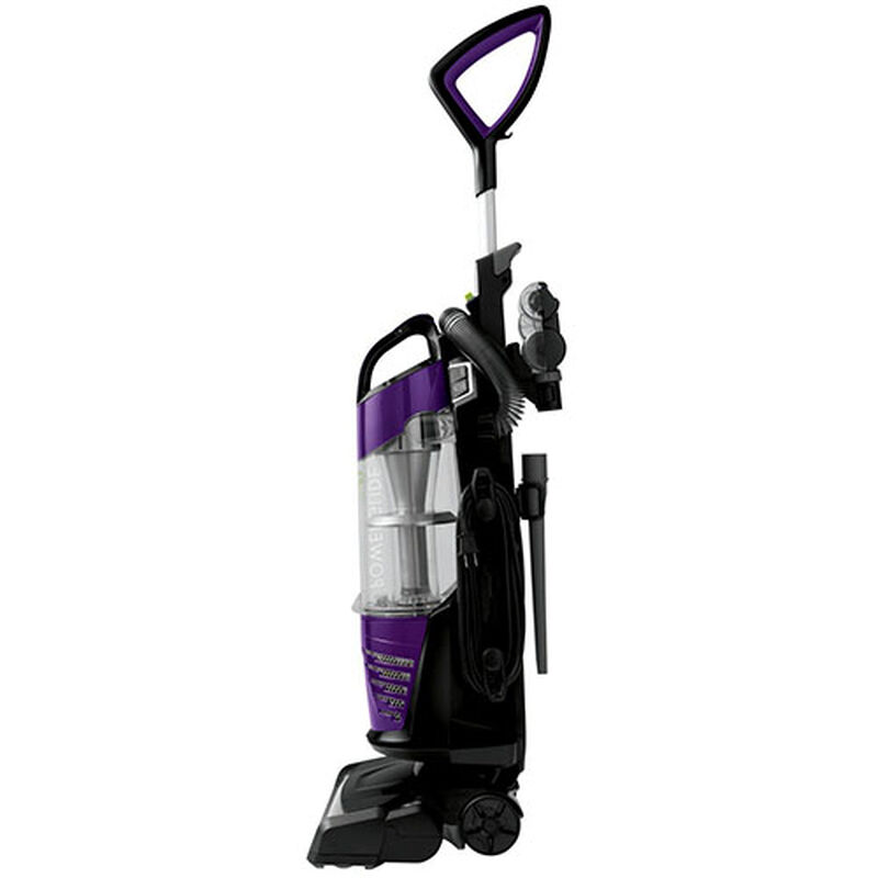 BISSELL PowerGlide® Deluxe Pet 27636 profile vacuum cleaning