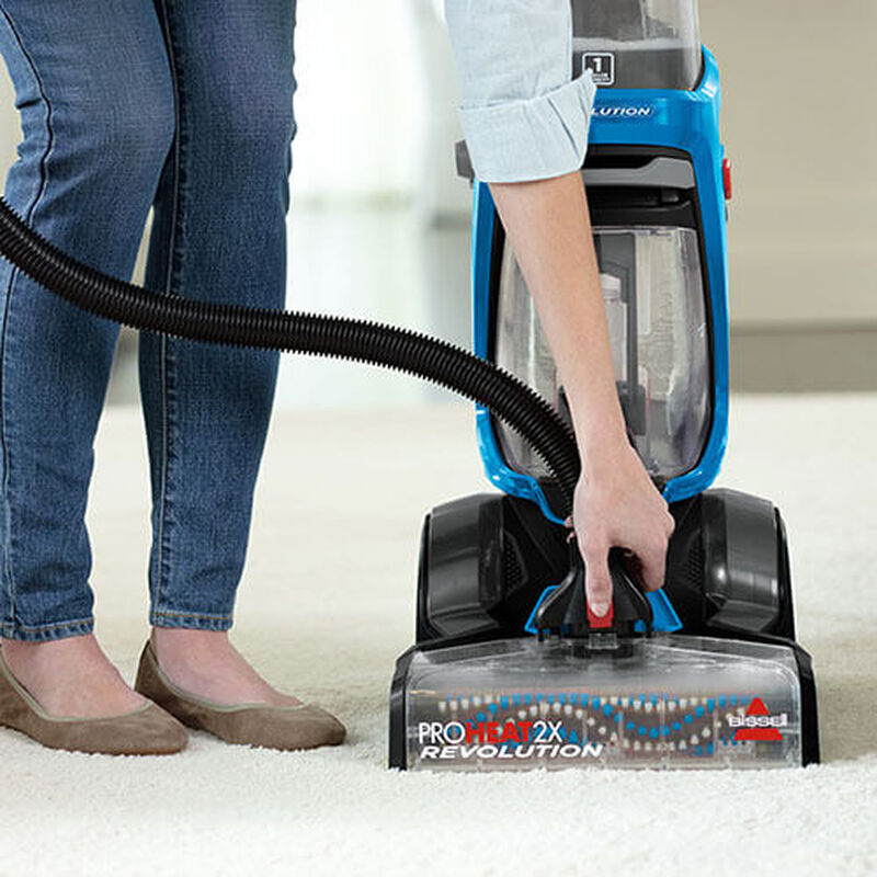 ProHeat 2X Revolution 15506 BISSELL Carpet Cleaners Attach Hose